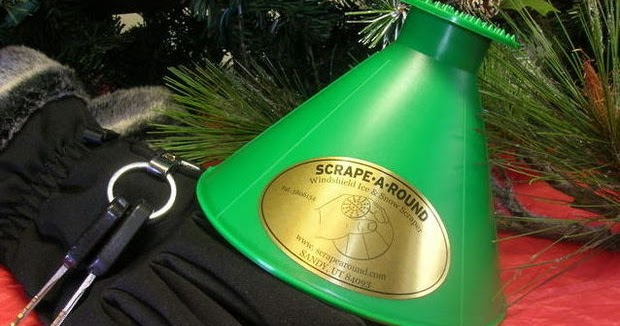 How To Get Ice Off Of Windshield >> Inspired by Savannah: Stocking Stuffer Idea -- The Scrape ...