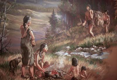 personas prehistoricas