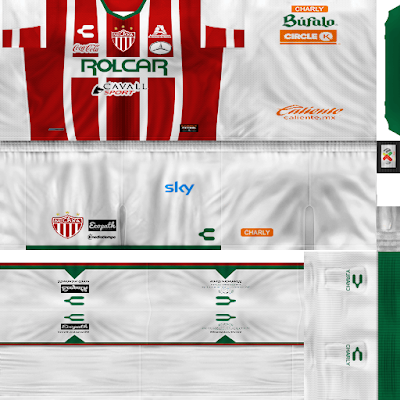 PES 6 Kits Club Necaxa Season 2017/2018 by Ignaxx