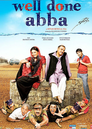 Poster Of Hindi Movie Well Done Abba! 2009 Full HD Movie Free Download 720P Watch Online