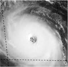 Hurricanes as portals