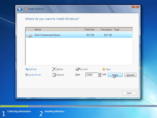 Cara Installasi Windows 7 Lengkap dengan Gambar