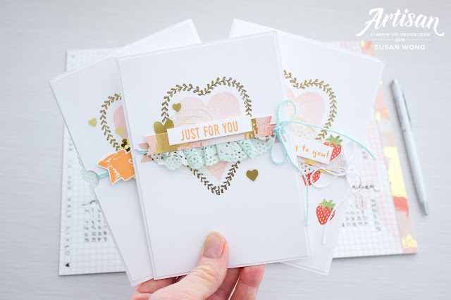 Sure Do Love You - Susan Wong for Stampin' Up! Artisan Blog Hop
