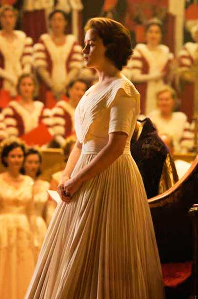 Elizabeth vestido, The Crown
