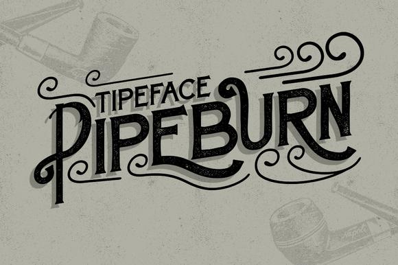 Pipeburn Typeface Free Font