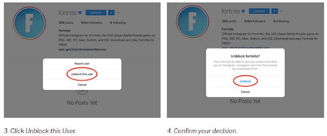 Cara Membuka Blokir Seseorang di Instagram dengan mudah