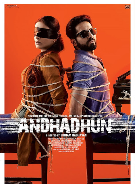 Andhadhun (2018) Download Hindi -720p-x264 -mkv