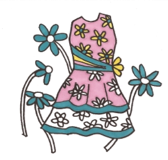 Fashion Tips Blog Dresses Coloring Pages