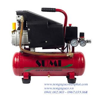 Máy nén khí, máy  bơm hơi 9 lít, máy bơm hơi mini, may bơm hơi giá rẻ, giá máy bơm hơi