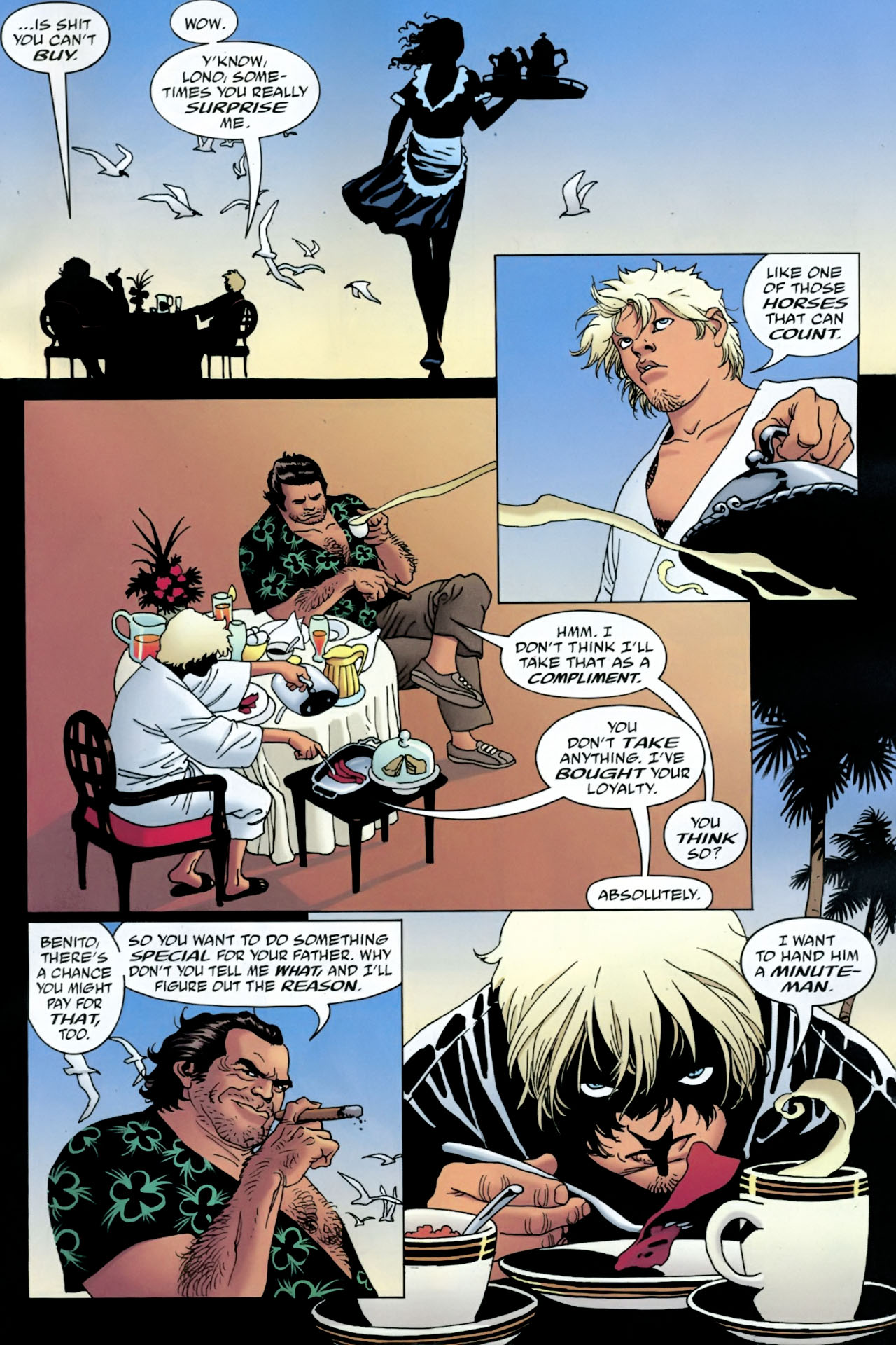 Read online 100 Bullets comic -  Issue #90 - 13