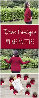 Gestrickter Cardigan aus einem Strickset von We are Knitters