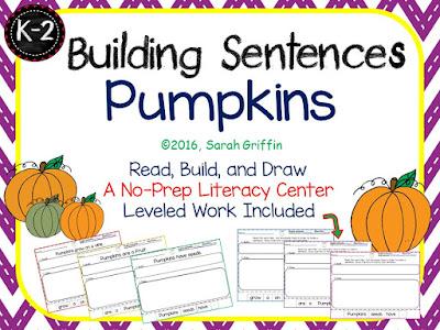 https://www.teacherspayteachers.com/Product/Building-Sentences-Pumpkins-932156