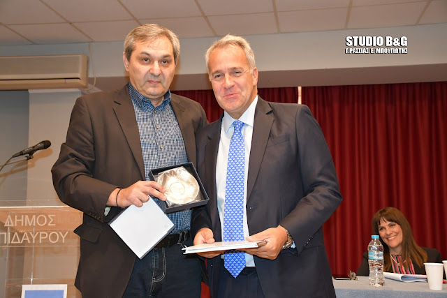 """Στην Επίδαυρο ο Μάκης Βορίδης σε εκδήλωση της ΔΗΜ.Τ.Ο. Επιδαύρου για τον """"Κλεισθένη"""""""