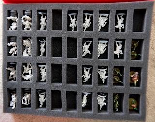 Ogres, Pro Elves & Dwarf Miniatures