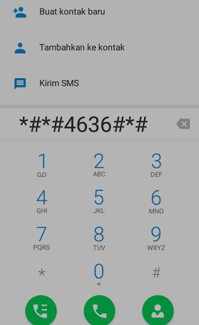 cara merubah jaringan 3G ke h+ hp Himax