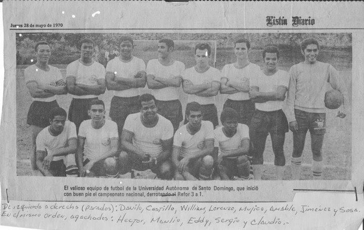 Resultado de imagen para futbol dominicana 1970