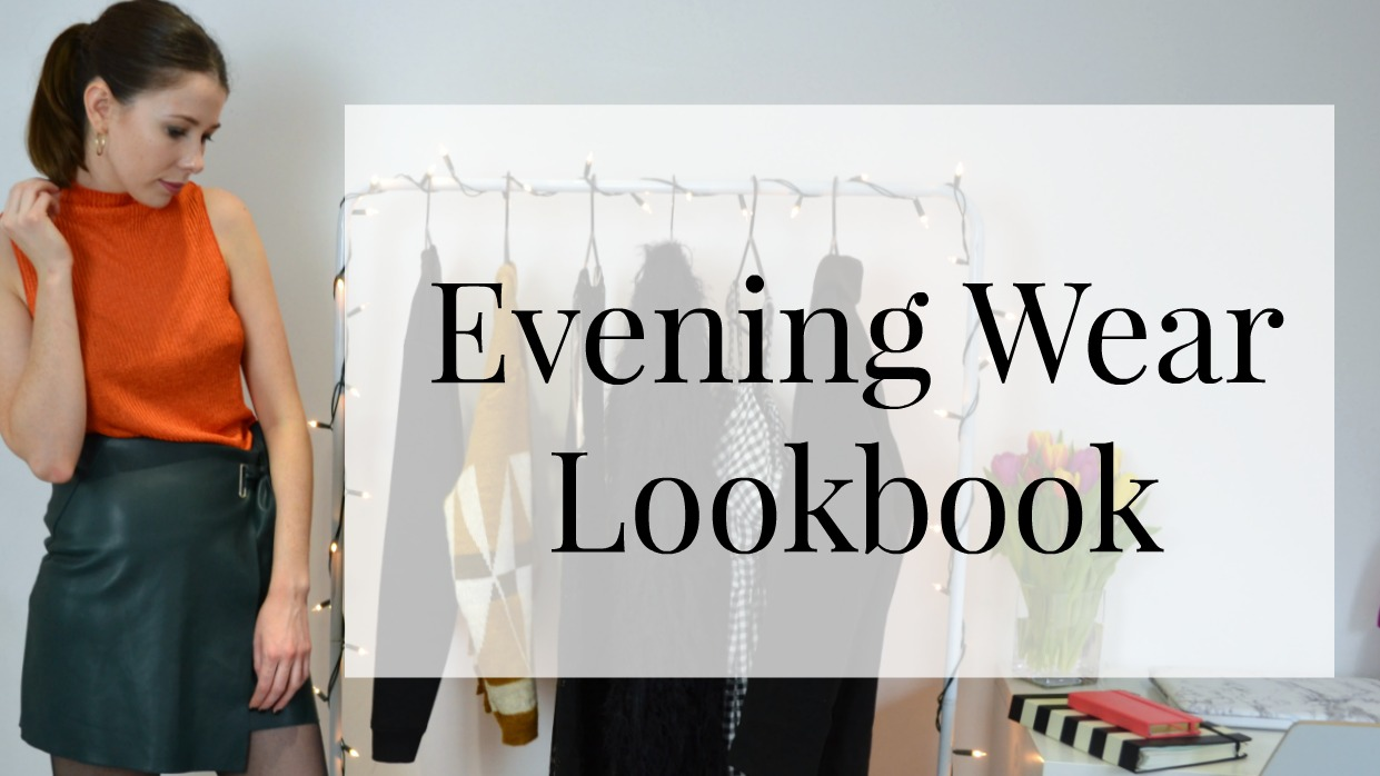 Evening Wear Lookbook Youtube Video Ft Zara, Topshop, PVC and Public Desire