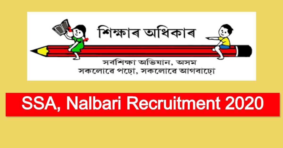 SSA, Nalbari Recruitment 2020 : Apply For Night Chowkidar Post
