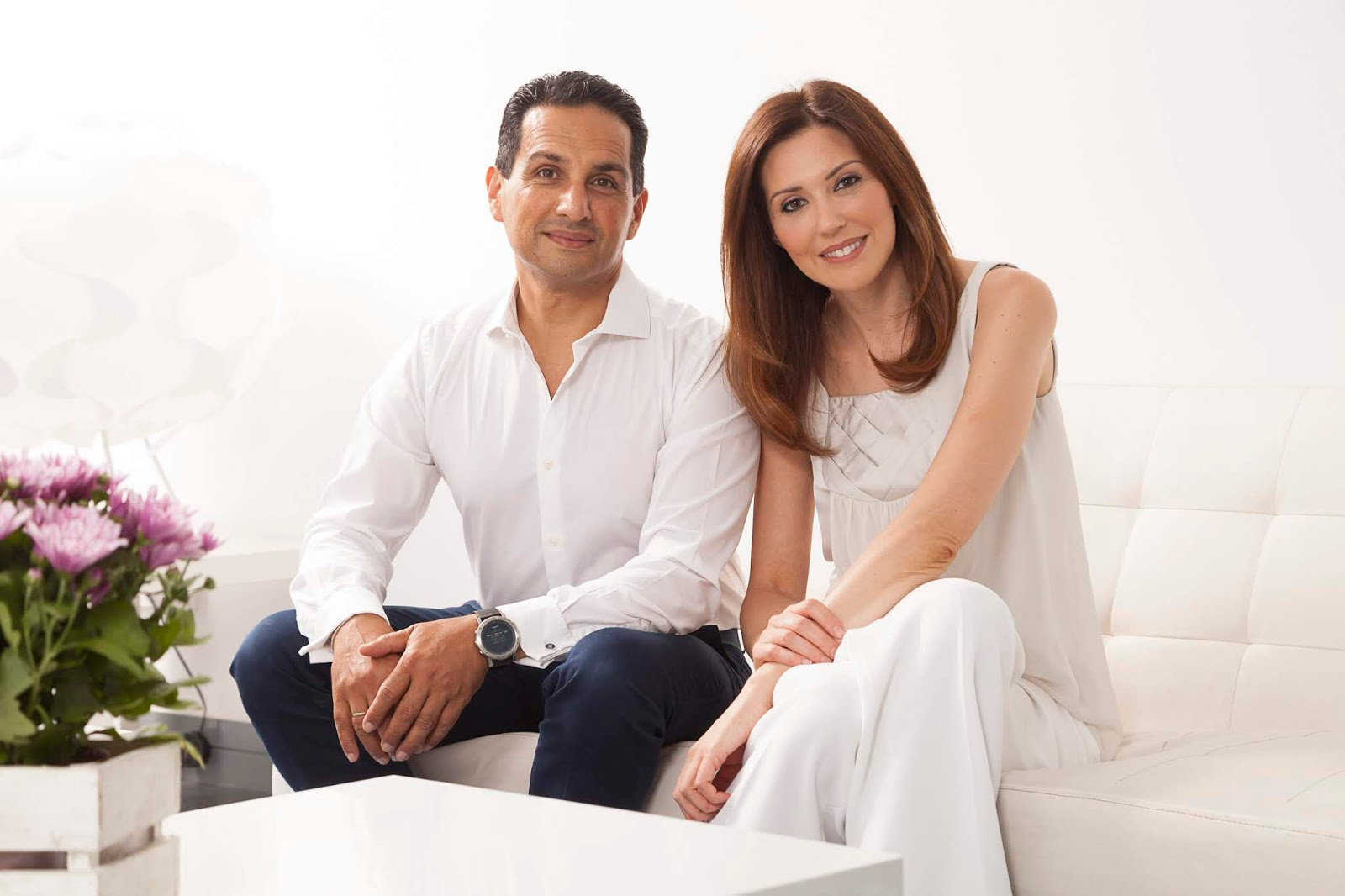 Doctores Raquel Moreno Pentinel y Amir Tarighpeyma, fundadores de Medicina Estética ERES.
