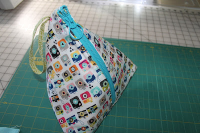 Pyramid Zipper Pouch