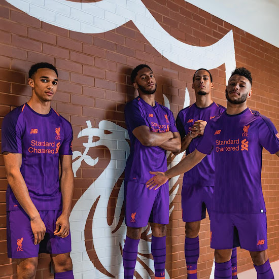 online retailer d6fd2 28342 Liverpool 18-19 Away Kit Released - Footy Headlines