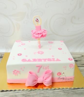 tort dla baletnicy