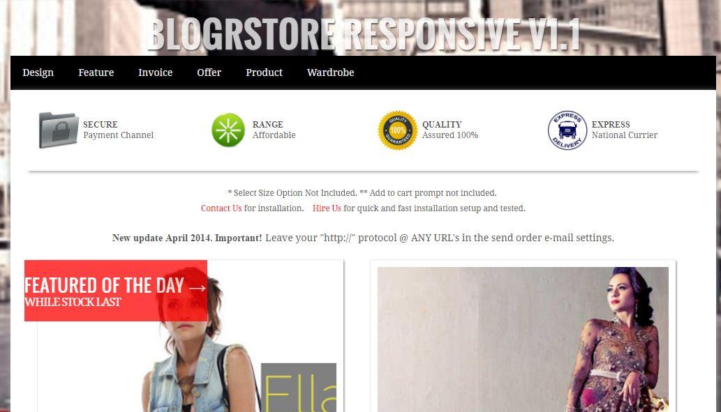 3 Template Blogger Gratis dan Keren Untuk Toko Online