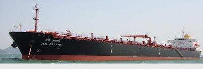 Great Eastern Shipping Company's Ship Jag Aparna
