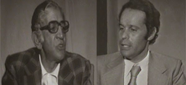لقاء نادر مع الفنان نعمان عاشور علي القناة الأولي