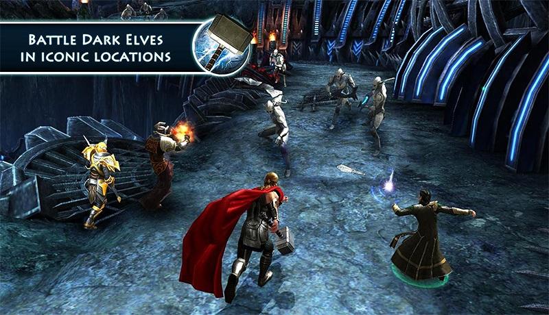 تحميل لعبة اكش الاكشن والاثارة thor: the dark world للاندرويد