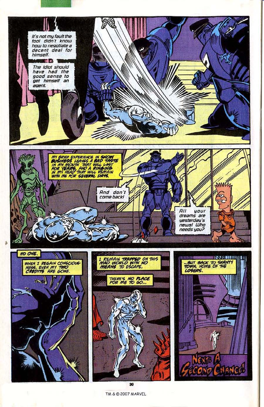 Read online Silver Surfer (1987) comic -  Issue #41 - 32