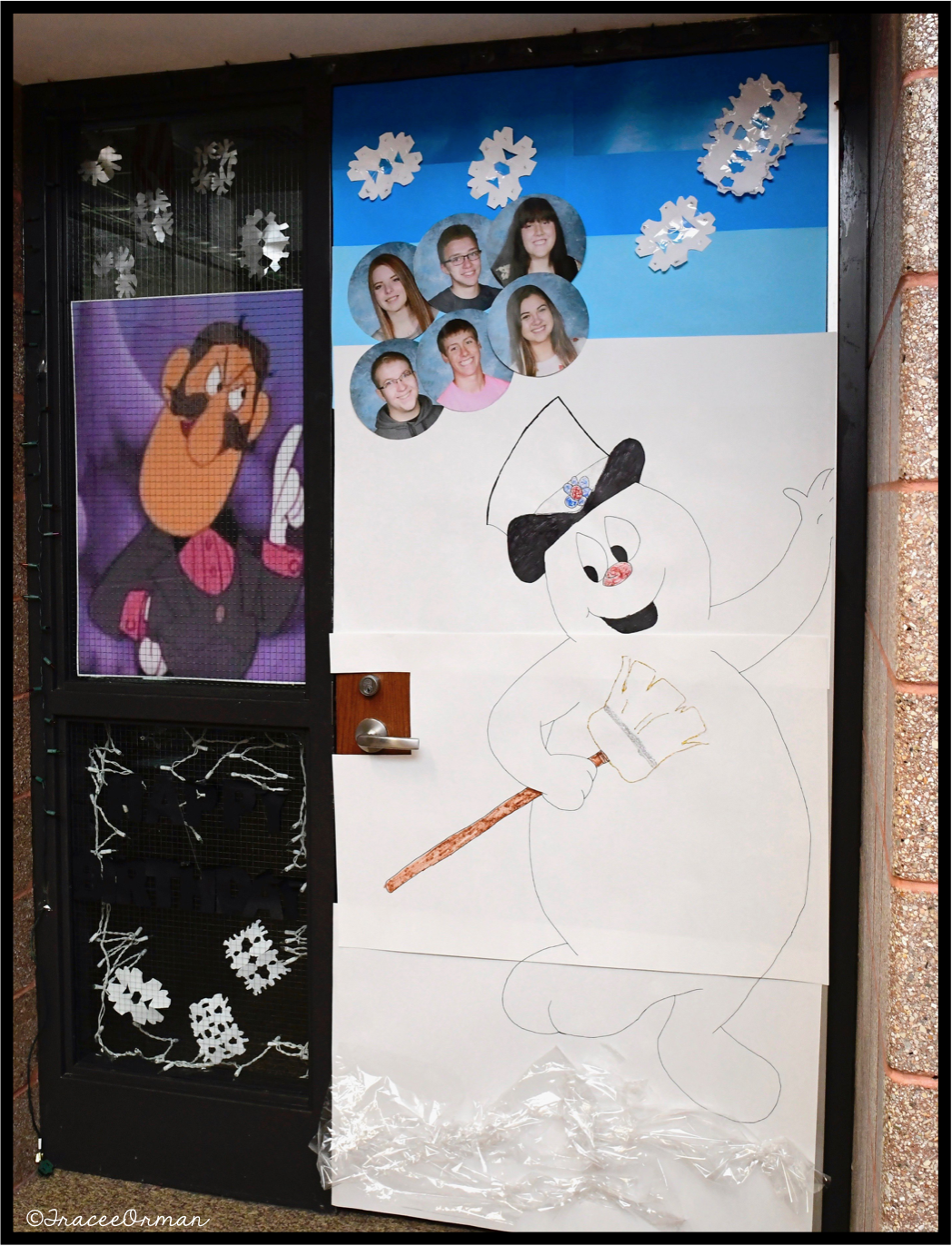 Mrs Orman S Classroom Holiday Door Decorating