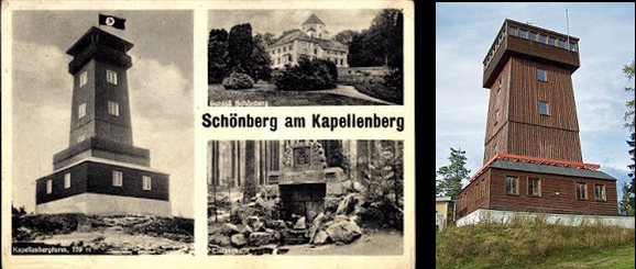 Bad Brambach Kapellenbergturm on the Schönberg