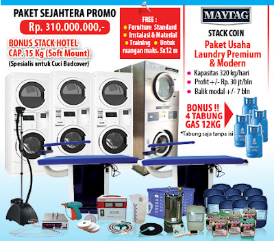 PAKET-SEJAHTERA-PROMO Laundry koin |Jakarta|Makassar|Surabaya|Medan|Bandung|Bali|Batam