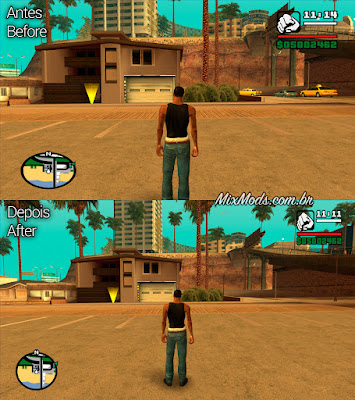 gta sa san mod skyui widescreen fix support