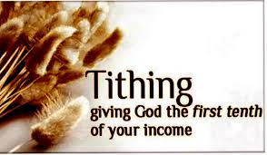 Bible verses about tithing and offering