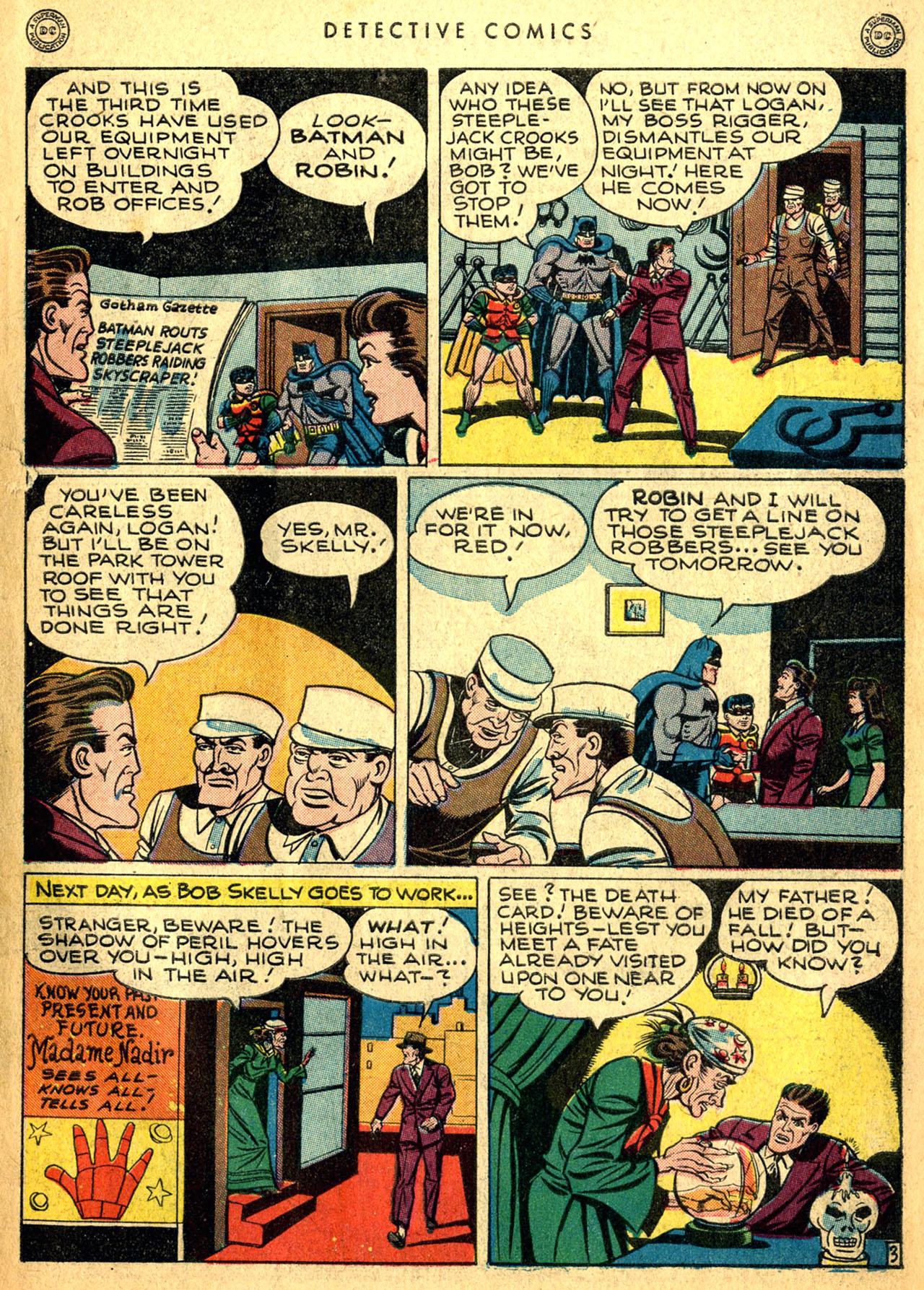 Read online Detective Comics (1937) comic -  Issue #117 - 5