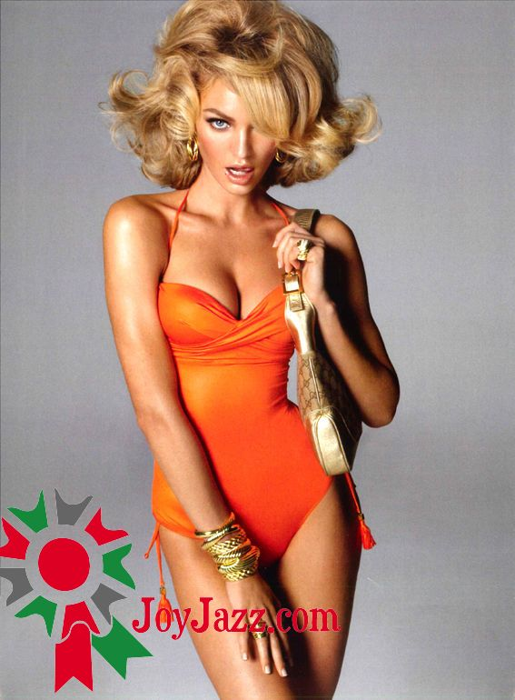 Hot and spicy: Candice Swanepoel Topless in Vogue Italia