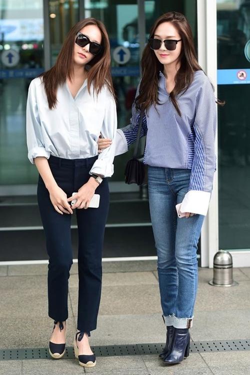 Krystal Airport Fashion Official Korean Fashion