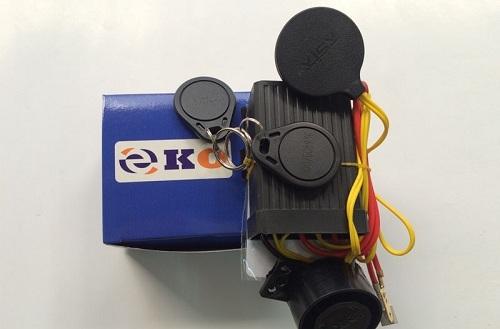 Khóa chống trộm xe máy bằng thử từ RFID EKO