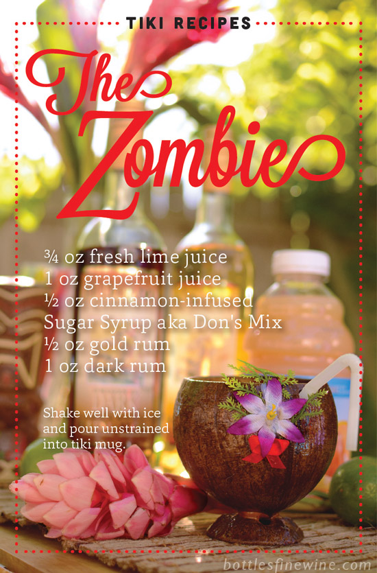 Zombie Cocktail Recipe