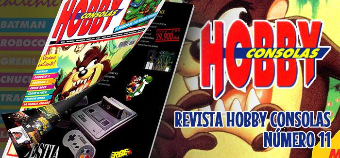 Revista Hobby Consolas Nº 11 (1992)