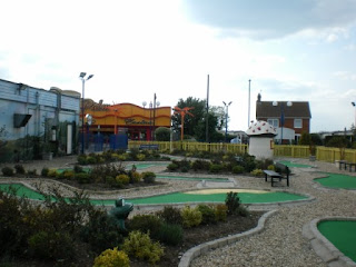 Mini-Golf at The Golden Palm Resort in Chapel St Leonards, near Skegness