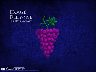 blog vin beaux-vins game of thrones que vin boire devant house redwyne