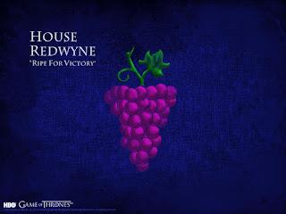 blog vin beaux-vins game of thrones que vin boire devant house redwyne