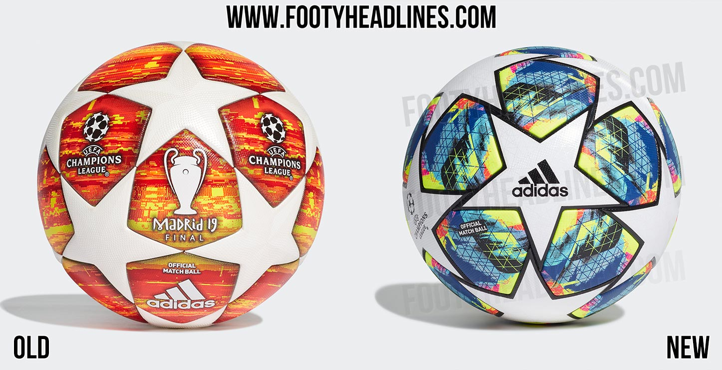 new vs old adidas champions league ball panel construction 2019 20 uefa champions league ball leaked footy headlines new vs old adidas champions league ball