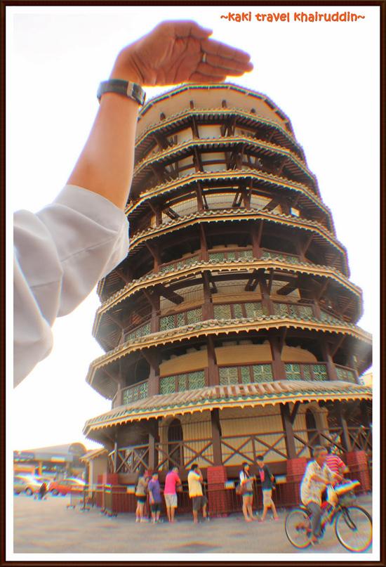 Menara Jam Senget di Teluk Intan, Perak