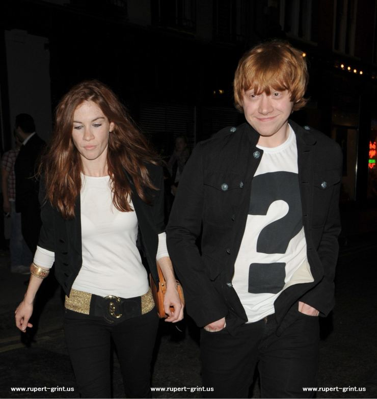 Who is rupert grint dating 2012