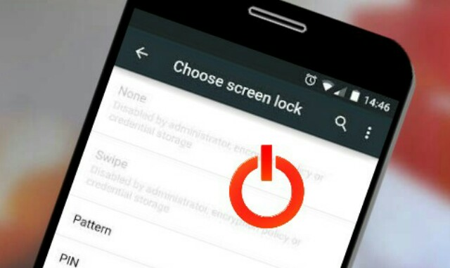 Buka setting lockscreen android