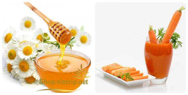 Tạm biệt ho có đờm vĩnh viễn với bài thuốc đặc trị từ cà rốt và mật ong